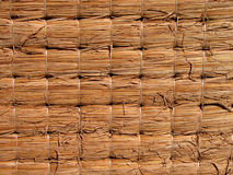 Tatami texture. A backside tatami detail Stock Images
