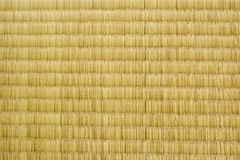 Tatami texture. Texture of Japanese traditional straw floor coverings known as tatami royalty free stock photography