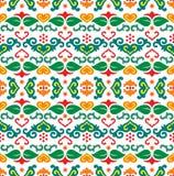 Tatar naadloos patroon Stock Afbeeldingen