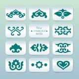 Tatar ornamental motifs Royalty Free Stock Image