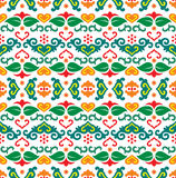 Tatar seamless pattern. Vector seamless pattern with tatar motifs Stock Images