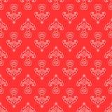 Tatar stylized flower pattern. Royalty Free Stock Image