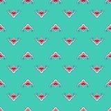 Tatar stylized flower pattern. Stock Photography