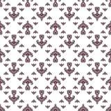 Tatar stylized flower pattern. Stock Image