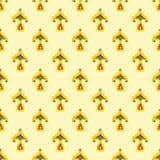 Tatar stylized flower pattern. Royalty Free Stock Photo