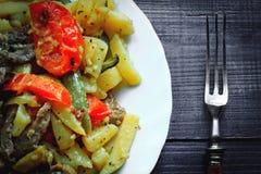 Tatar tradycyjny jedzenie - Azu Obrazy Stock
