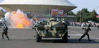 Tatarien überwachen Tage polizeilich. Kraftdarstellung Stockbilder
