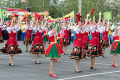 TATARSK, RUSSIA: JUNE 27, 2013 - The Culture Olymp Stock Photos