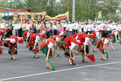 TATARSK, RUSSIA: JUNE 27, 2013 - The Culture Olympics competitio Royalty Free Stock Image