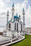 TATARSTAN, RUSSIA - JULY 11, 2015: Kul-Sharif Mosque in the sity Kazan, Tatarstan, Russia. Stock Photos