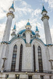 TATARSTAN, RUSSIA - JULY 11, 2015: Kul-Sharif Mosque in the sity Kazan, Tatarstan, Russia. Stock Photo
