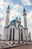 TATARSTAN, RUSSIA - JULY 11, 2015: Kul-Sharif Mosque in the sity Kazan, Tatarstan, Russia. Royalty Free Stock Photos