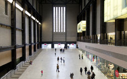 Tate современное в Лондоне, Великобритании Стоковые Изображения