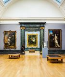 Tate Britain in London (hdr) lizenzfreie stockfotos