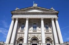 Tate Britain in London. The impressive facade of the Tate Britain Art Gallery in London Stock Images