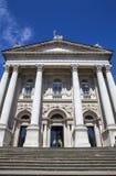 Tate Britain in London. The impressive facade of the Tate Britain Art Gallery in London Stock Photo