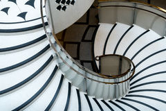 Tate Britain Spiral Staircase i London Royaltyfria Foton