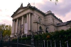 Tate Britain-voorzijde van het gebouw, Londen, het UK Royalty-vrije Stock Afbeelding