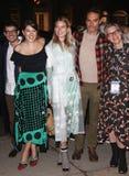 Tate Ellington, Tara Summers, Dree Hemingway, Migs Govea stock foto