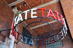 Tate Liverpool Art Gallery. Royalty Free Stock Images