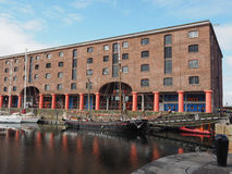 Tate Liverpool à Liverpool Images libres de droits