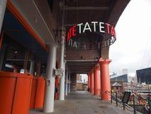 Tate Liverpool w Liverpool zdjęcia stock