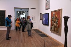 Tate Modern, Λονδίνο Στοκ Φωτογραφία
