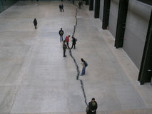 Tate Modern, Λονδίνο Στοκ φωτογραφία με δικαίωμα ελεύθερης χρήσης