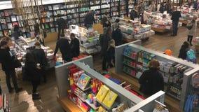 Tate Modern Bookshop Video vídeos de arquivo