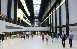 Tate Modern entrance Royalty Free Stock Photos