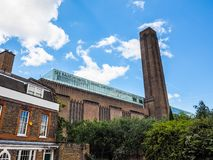 Tate Modern in London, hdr lizenzfreie stockfotos