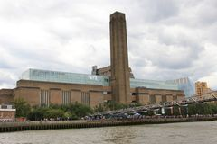 Tate Modern Museum i London Arkivfoto
