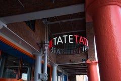 Tate Modern przy Liverpool Albert dokiem Obraz Stock