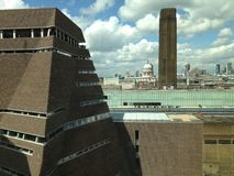 The Tate Modern St Pauls London Stock Photos