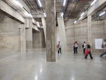 Tate Modern Tanks a Londra fotografia stock libera da diritti