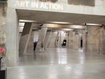 Tate Modern Tanks a Londra fotografia stock