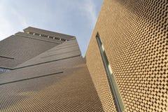 Tate Modern Tavatnik budynek w Londyn unikalne struktury obraz stock