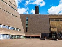 Tate Modern Tavatnik Building in London (hdr) Stock Image