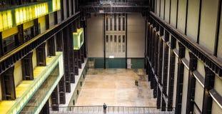 Tate Modern Turbine Hall en Londres (hdr) Fotografía de archivo libre de regalías