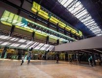 Tate Modern Turbine Hall en Londres (hdr) Imagen de archivo libre de regalías