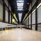 Tate Modern Turbine Hall en Londres (hdr) Fotos de archivo