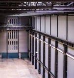 Tate Modern Turbine Hall en Londres (hdr) Imágenes de archivo libres de regalías