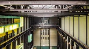 Tate Modern Turbine Hall en Londres (hdr) Foto de archivo libre de regalías