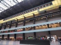 Tate Modern Turbine Hall in Londen Royalty-vrije Stock Afbeelding