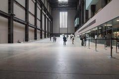 Tate Modern Turbine Hall in Londen Stock Afbeelding