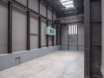 Tate Modern Turbine Hall in London Lizenzfreies Stockfoto