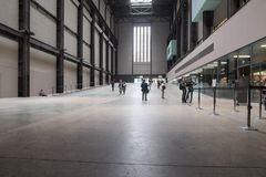 Tate Modern Turbine Hall in London Stockbild