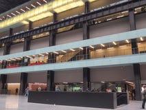 Tate Modern Turbine Hall in London Lizenzfreie Stockfotos