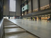 Tate Modern Turbine Hall in London Royalty Free Stock Photography