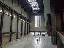 Tate Modern Turbine Hall in London Stock Images